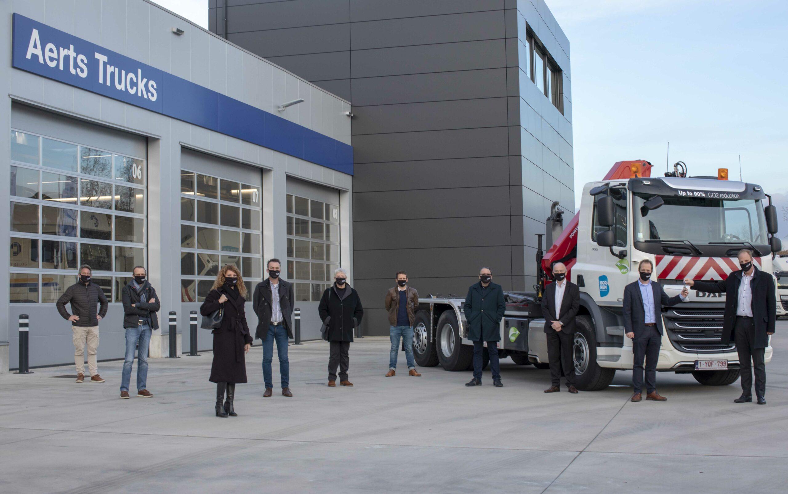 Gemeente Bornem en Aerts Trucks maken de cirkel rond