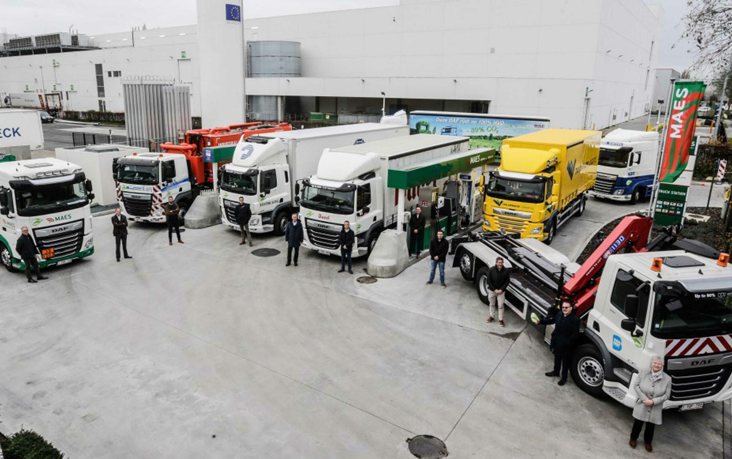 Met HVO (biodiesel uit afval) vermindert een DAF truck haar C02-emissies met bijna 90%