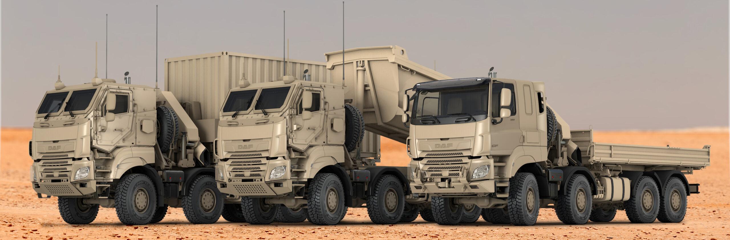 DAF ontvangt grote order van de Belgische krijgsmacht