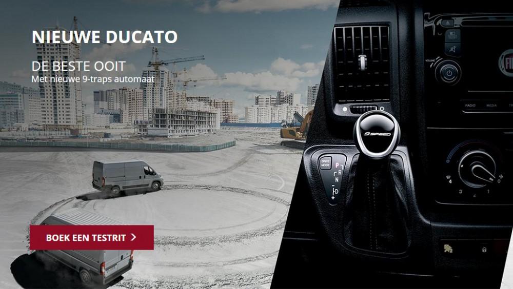 Ducato met nieuwe 9-traps automatische versnellingsbak