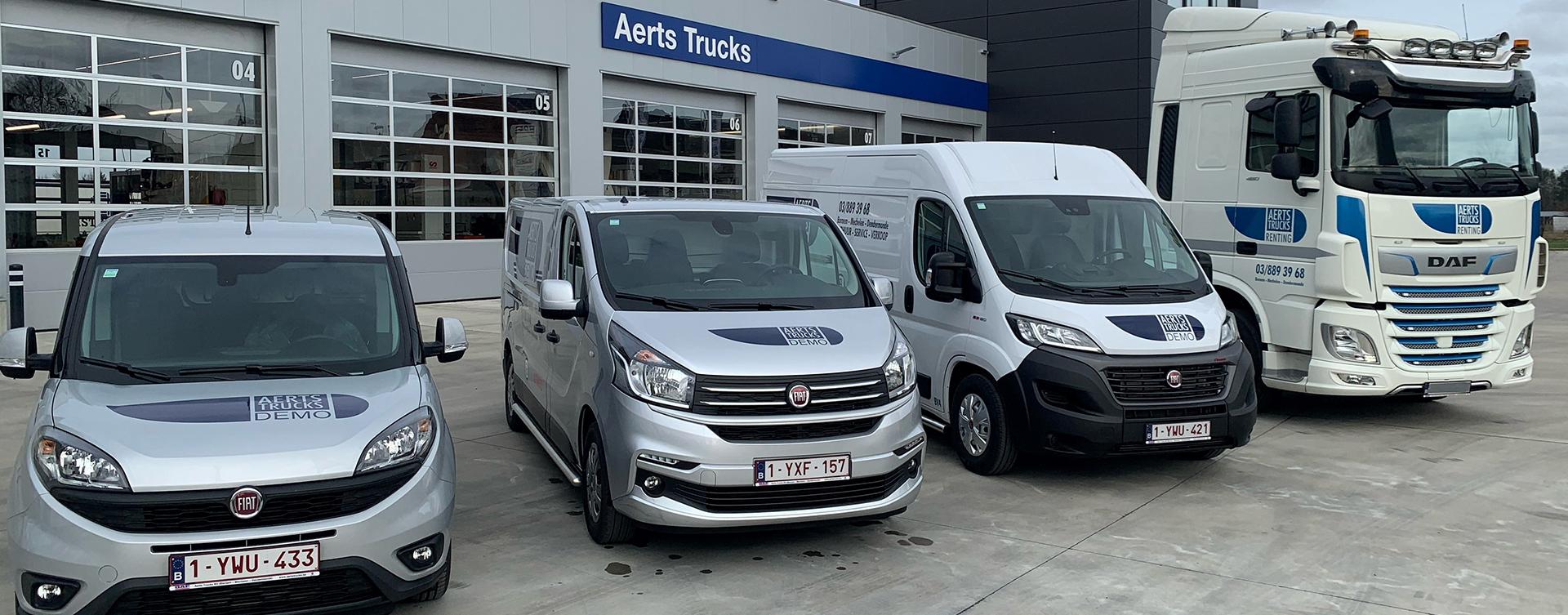 Aerts Trucks Renting